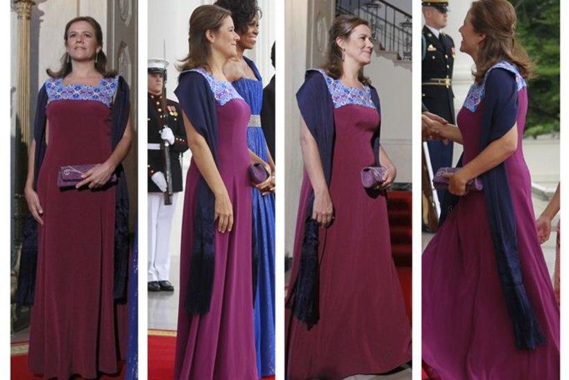 PILTUUDIS: USA esileedi säras Soome päritolu disaineri kleidis