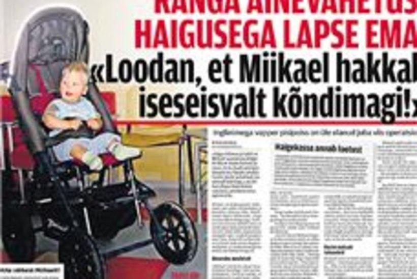 Lastefond toetab Miikaeli ravi