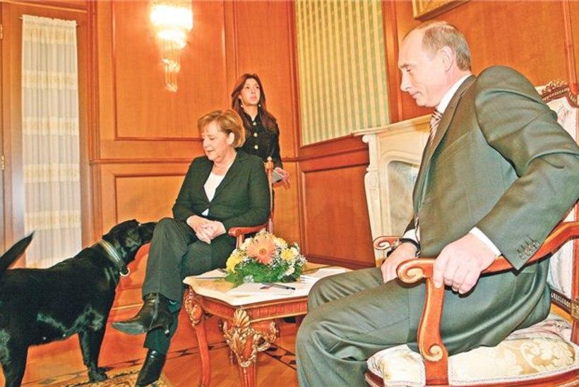 Saksa ajaleht: Putin kasutas Merkeli mõjutamiseks koera