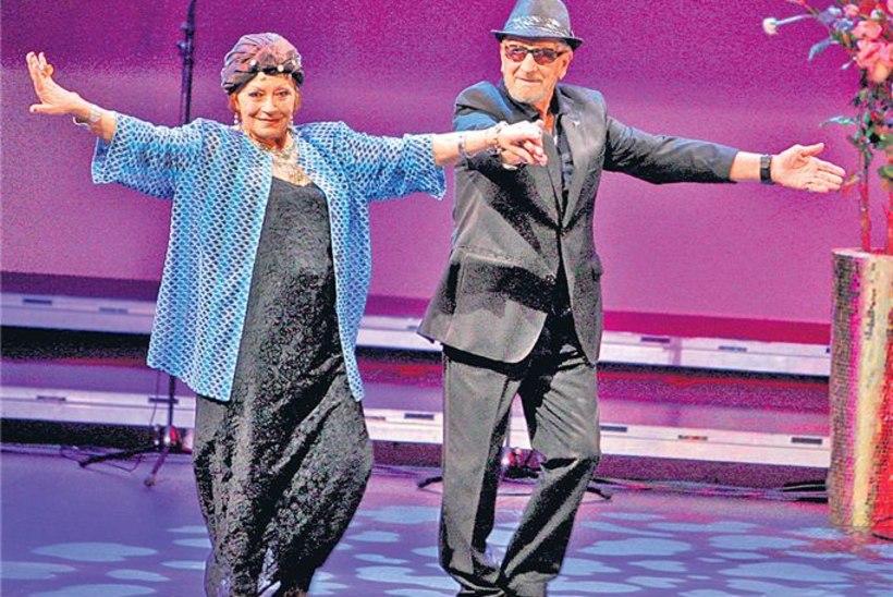 84aastasena laval tantsimas: suudaksin veel spagaatigi teha!