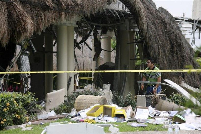 Plahvatus Mehhiko lukshotellis: vähemalt 7 hukkus