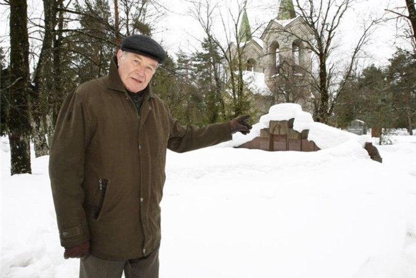Voldemar Kuslap: kalmistutelt leian ma rahu ja vaikust