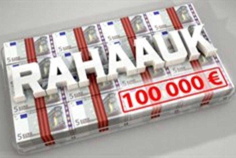 """Telemängus """"Rahaauk"""" saab 100 000 eurot kohe kätte"""