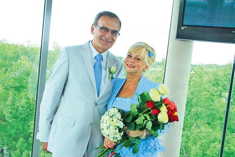 Poliitik Marika Tuus abiellus