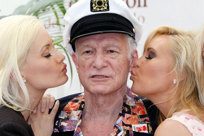 Playboy jänkud tormasid Hefneri voodivõimekust kaitsma