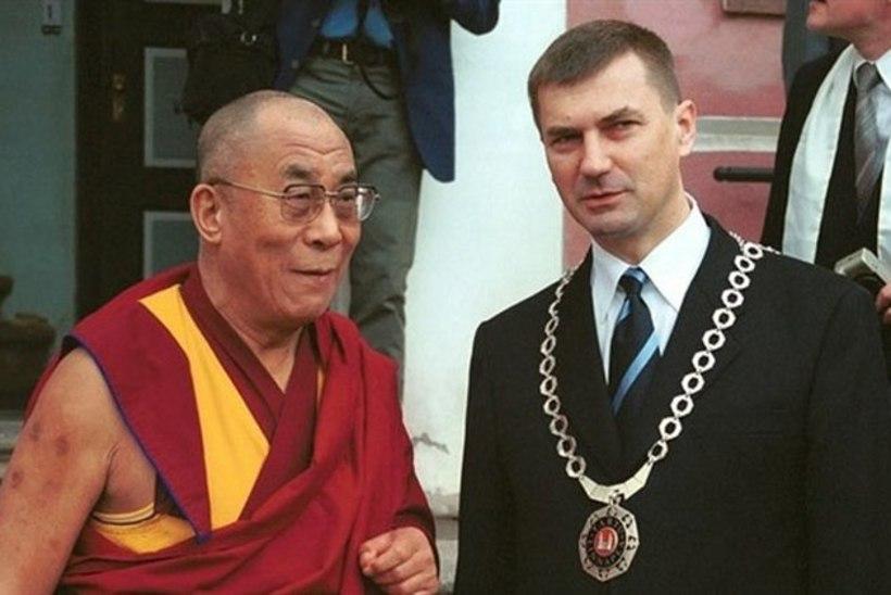 Dalai-laama külaskäigu tõttu ei saa Ansip Hongkongi sõita
