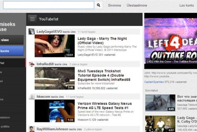 OHOH: YouTube tegi läbi totaalse muutumise