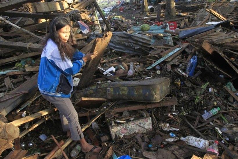 Filipiinidel on taifuuniohvrite arv tõusnud poole tuhandeni