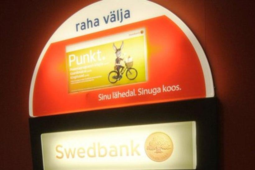 Swedbank jätab sularahaautomaadi Virtsu kuni järgmise aastani