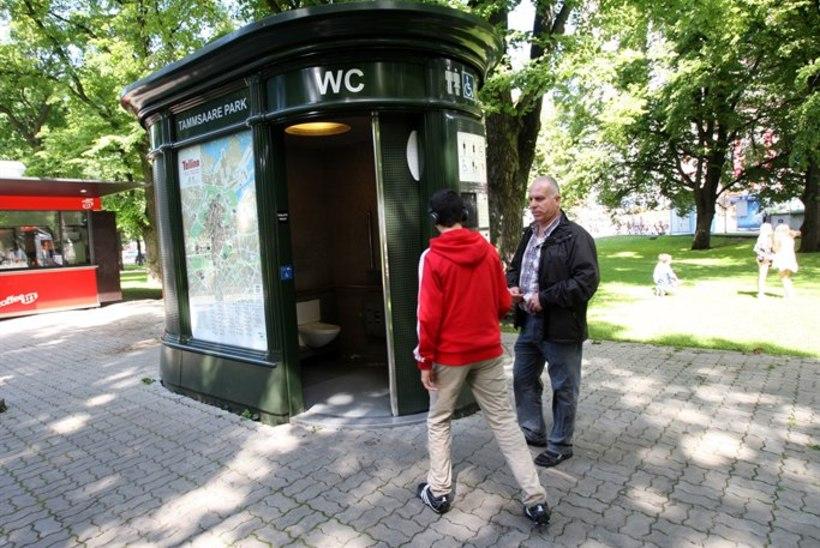 Häda ajab Tallinnas inimesi põõsastesse