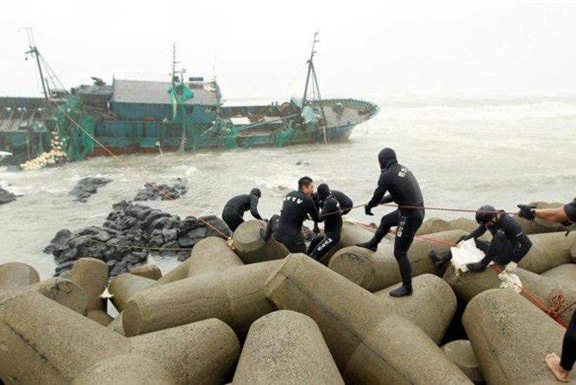 Kümnendi võimsamaid taifuune on Lõuna-Koreas tapnud kaheksa inimest