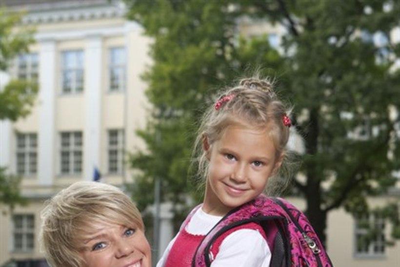 Gerli Padar: olen tütre kooli saatmisel rohkemgi elevil, kui olin enda esimesel koolipäeval