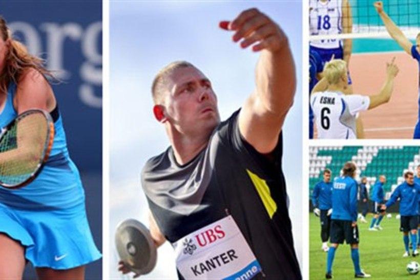 ab1deab991f SUUR SPORDIÕHTU: Kontaveit jõudis poolfinaali, Kanter võitis Teemantliiga,  jalg- ja võrkpallurid paraku
