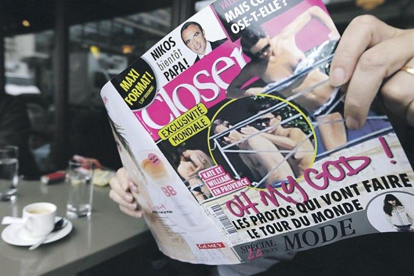 Šokis: Kate'i topless-fotod vihastasid kuninglikku paari