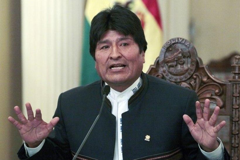 Boliivia president süüdistas riigi narkokaubanduses Ameerikat