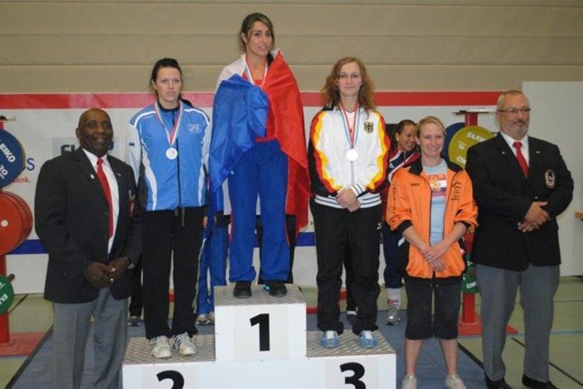 Marianna Bogdanova võitis Lääne-Euroopa meistrivõistlustel jõutõstmises hõbemedali