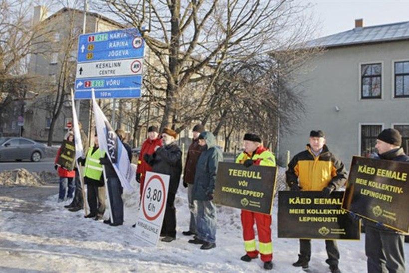 Kiirabiautojuhid piketeerivad esmaspäeval palgatõusu nimel