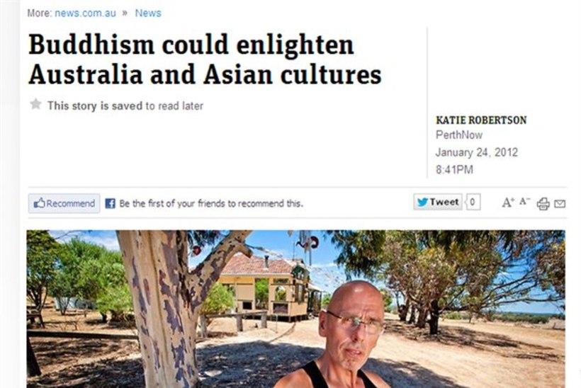 Eesti budistlikud löömamehed Austraalias