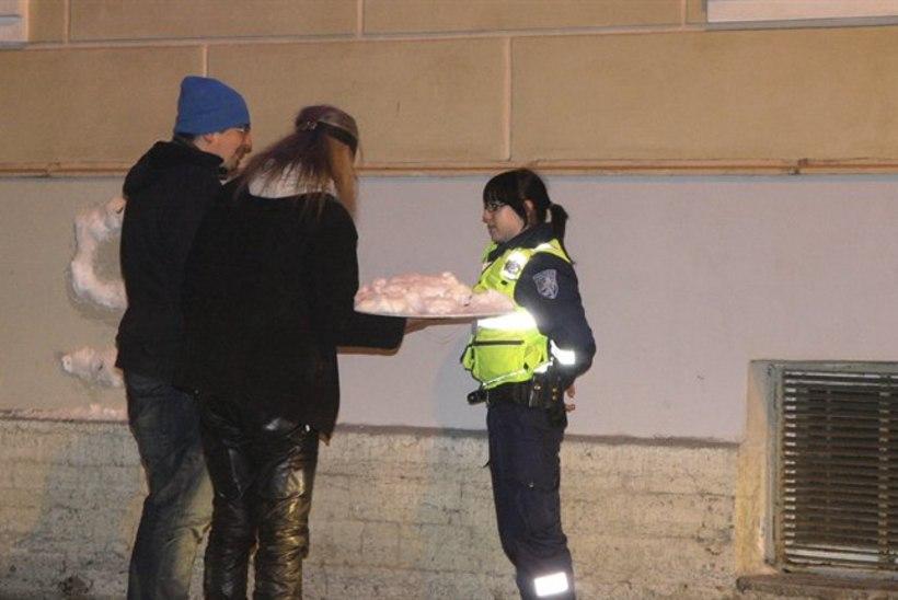 Meeleavaldusse ülbe poliitika vastu pidi sekkuma ka politsei