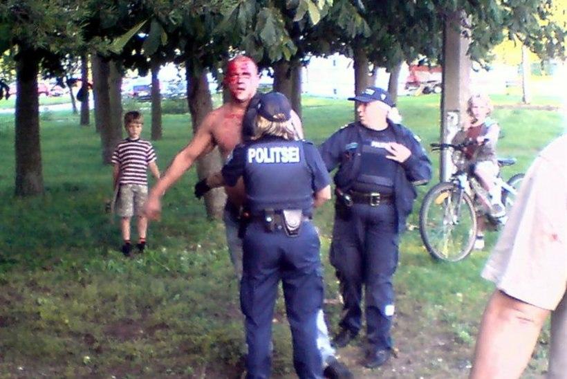 Bemmi-Kristjan põgenes politsei eest ja tegi avarii