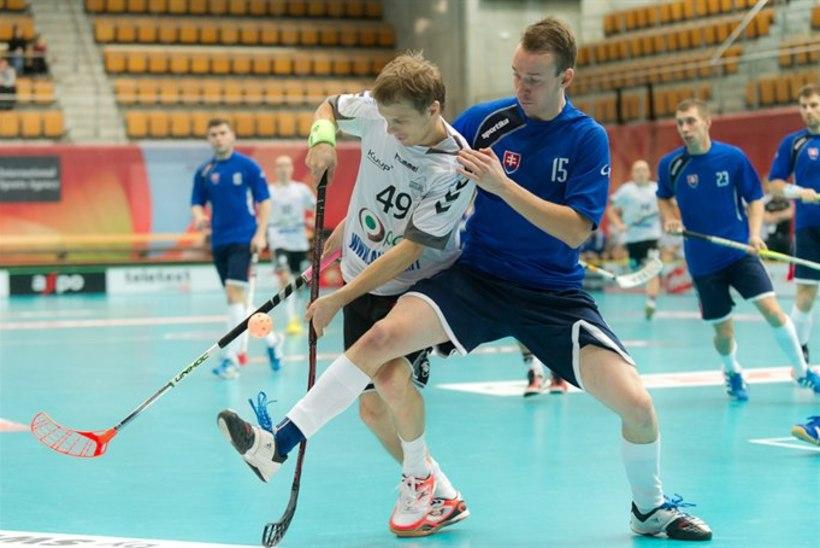 Saalihoki MM: Eesti koondis viigistas Slovakkiaga, edasipääs küsimärgi all