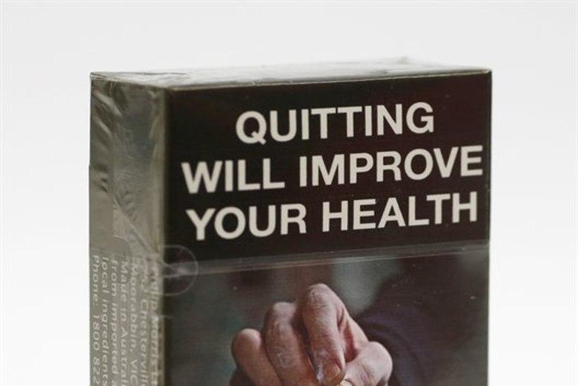 Kõik Austraalia suitsupakid on homsest ühesuguse šokeeriva ümbrisega