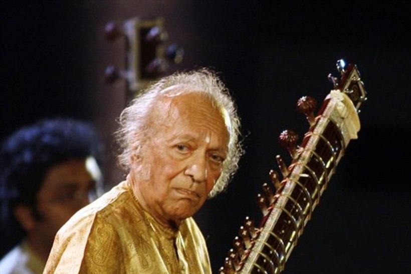 Suri sitarivirtuoos Ravi Shankar