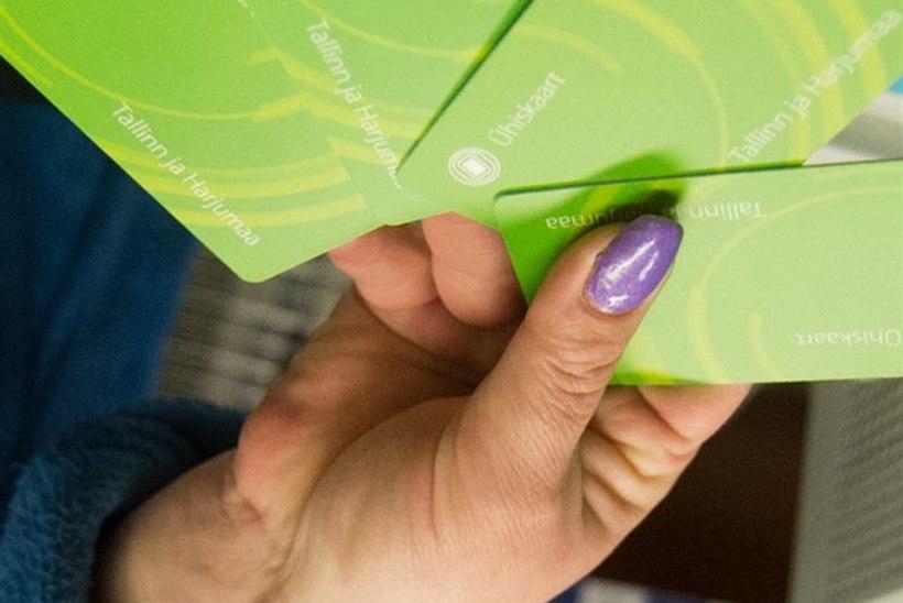 Tallinna ühiskaardile saab osta ka rongipileteid
