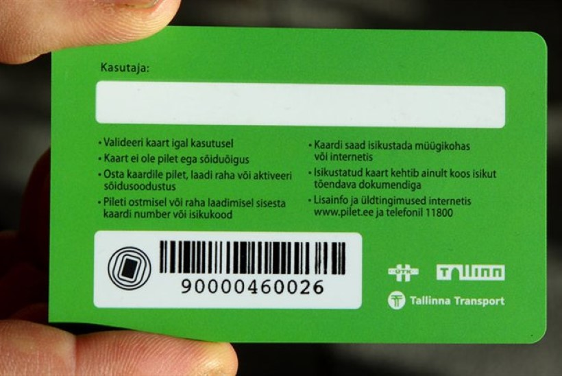 Tallinna ühiskaart