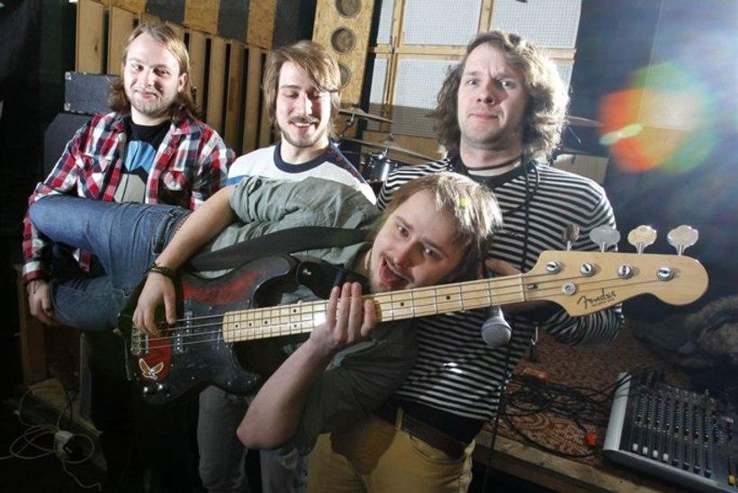 Lõbus Rokibänd Elephants from Neptune: meie muusika on nagu hea mürk!