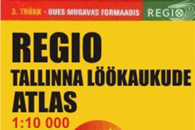 """Rahvasuu reklaamib: müügile tuli Regio """"Tallinna löökaukude atlas"""""""