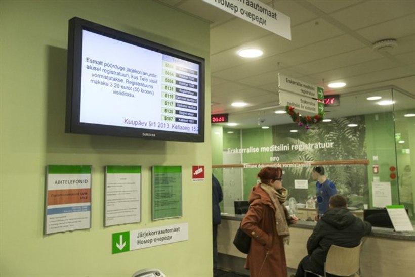 Ravijärjekorrad haiglates pikenevad