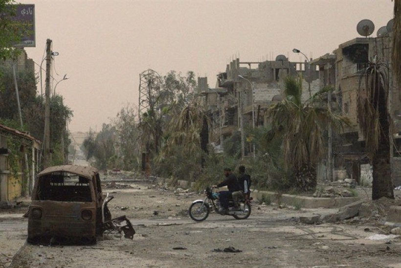 Stseen maailmalõpust: pilte sõjast räsitud Süüria linnast