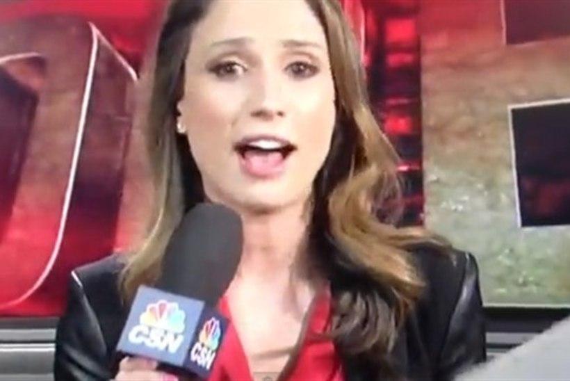 """ÕNNETU VIDEO: naisreporter vallandati meeskonna """"seksi"""" kiitmise eest"""