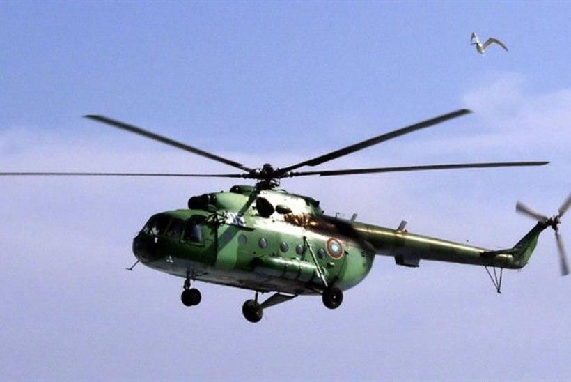 Venemaal kukkus alla lõhkeaineid vedanud helikopter