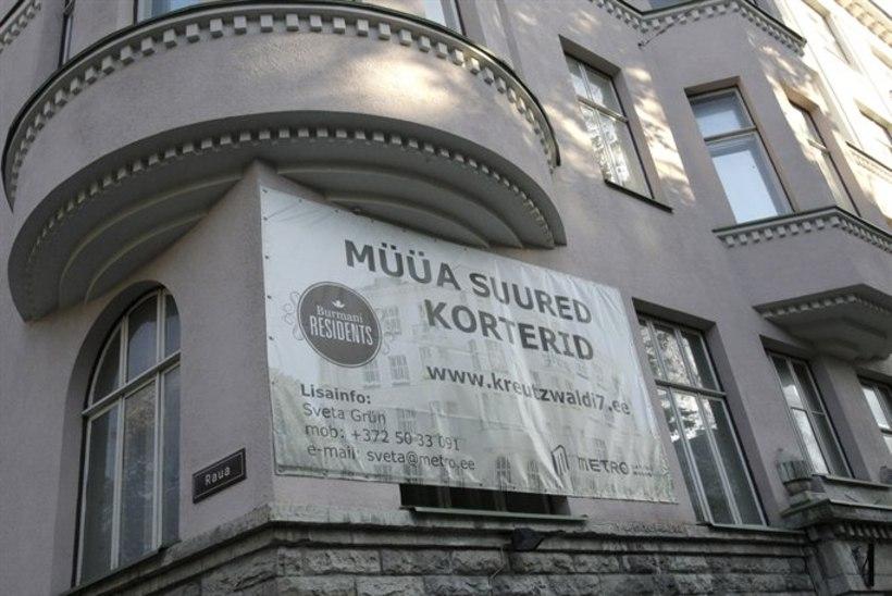 Kuuülevaade: Tallinna kalleim maja maksis 850 000 eurot