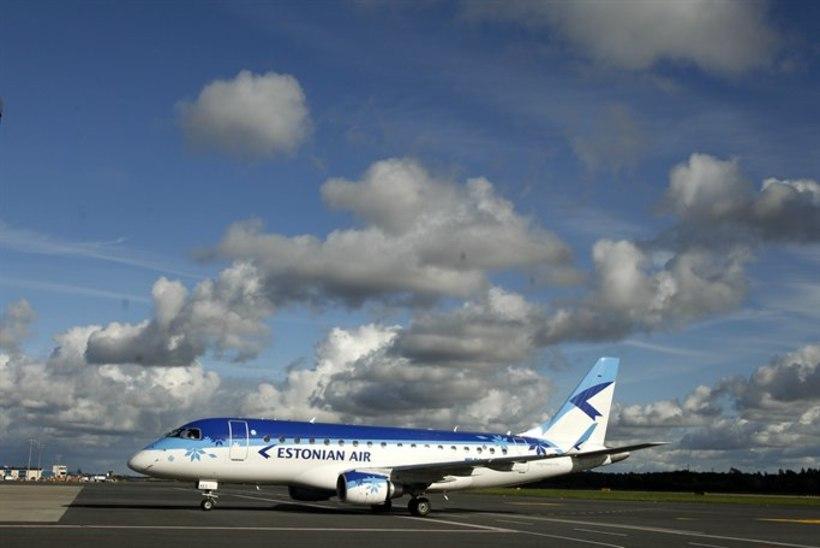 Estonian Airi reisijate arv on mullusega võrreldes märgatavalt langenud