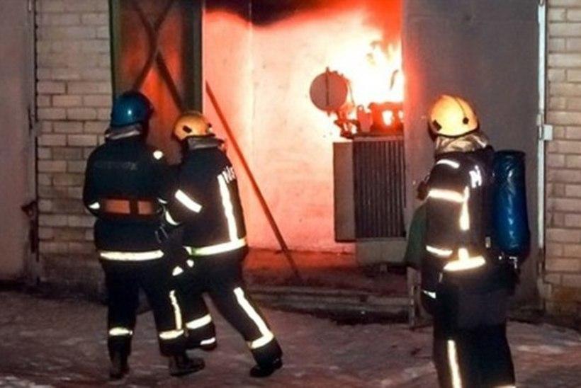 Tartu Supilinn jäi alajaama tulekahju tõttu elektrita