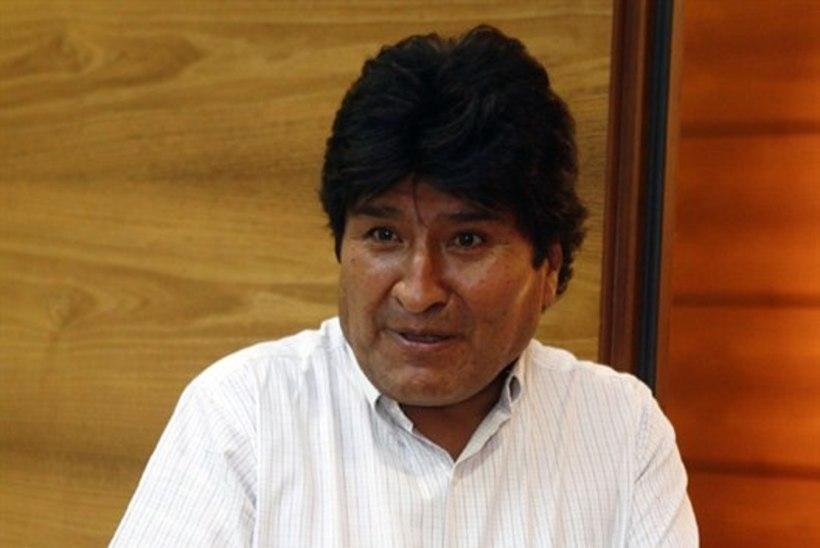 Boliivia president: mind võeti pantvangi