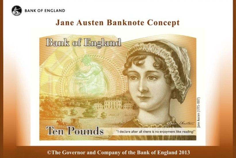 Jane Austen vahetab välja Charles Darwini