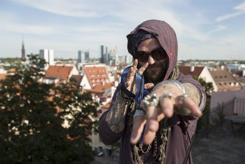 """""""Jackassi"""" staar Bam Margera on Tallinnas: tulin siia pikemalt puhkama!"""