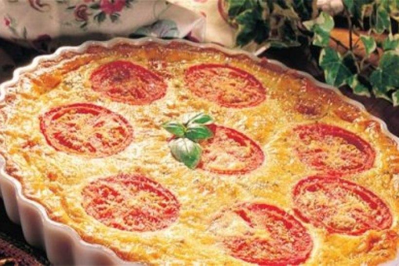 Tomatimaitseline juustupirukas
