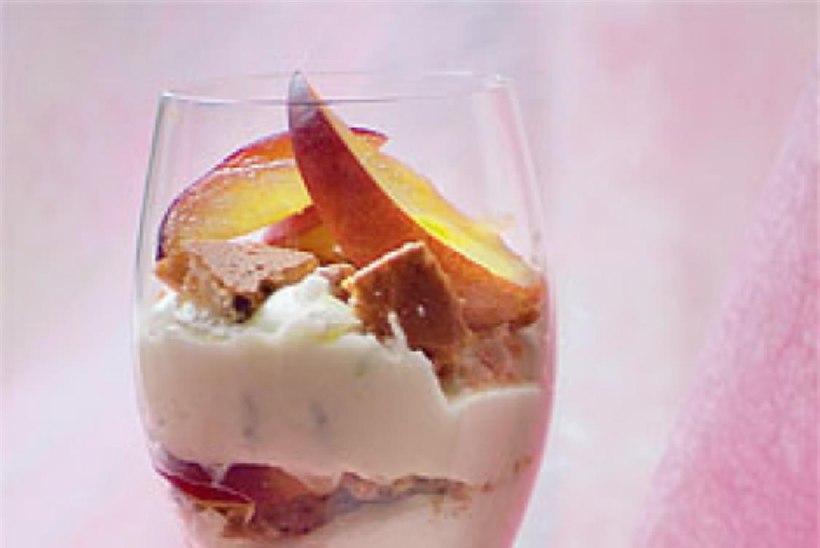 Nektariini-trifle
