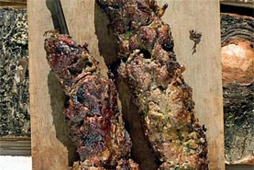 Sealihašašlõkk kuivas marinaadis