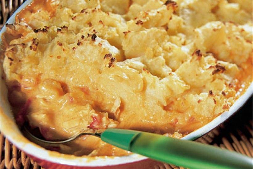 Kanavorm paprika ja kartulipudruga