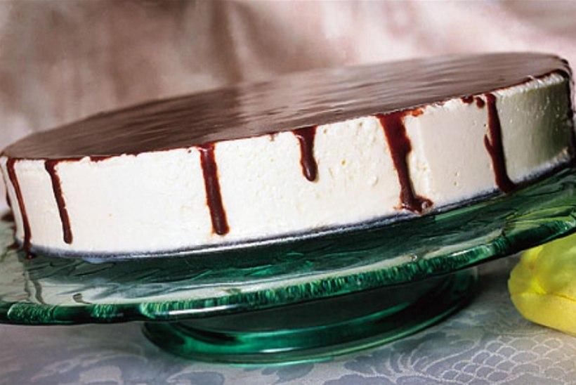 Külmutatud valge šokolaadi tort