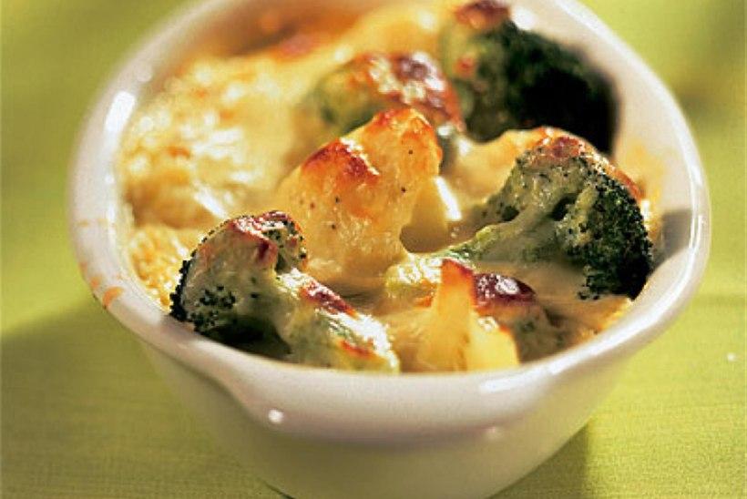 Brokoli-lillkapsagratään