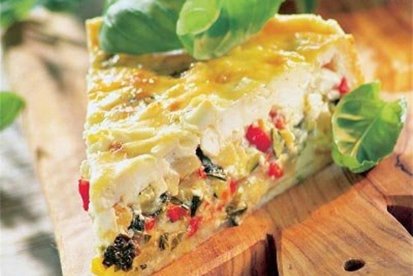 Mahlane fetajuustu-köögiviljapirukas