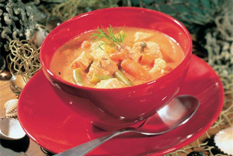 Kala-juustusupp tomatiga