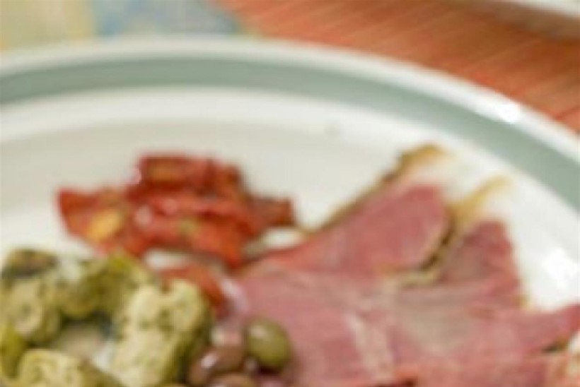 Lepasuitsu lambakintsu tapas luksuslike Vahemere juurviljade ja eesti kodu maitsetega